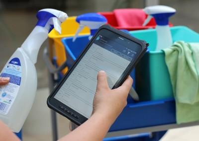 PTSGroup_ Smart Work Mobile_Materialliste verwalten
