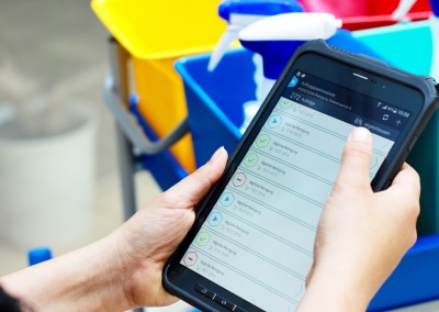 PTSGroup_ Smart Work Mobile_Reinigung Checkliste